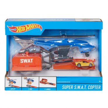 """Игровой набор """"Супербоевой вертолет"""" Hot Wheels, FDW70 / FDW72"""