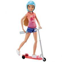 "Лялька Barbie Стейсі ""Стейсі і скутер"", DVX57"