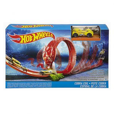 """Трек Hot Wheels """"Кільця кобри"""" серії """"Місто монстрів"""", DWK94/DWK95"""