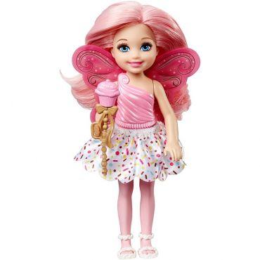 Лялька Barbie Челсі Фея-кексик з Дрімтопії, DVM87/DVM88