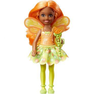 Лялька Barbie Челсі Фея-апельсинка з Дрімтопії, DVM87/DVM89