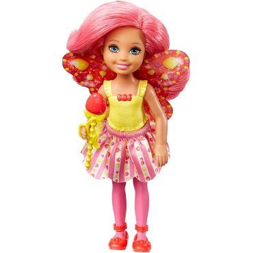 Лялька Barbie Челсі Фея-цукерочка з Дрімтопії, DVM87/DVM90