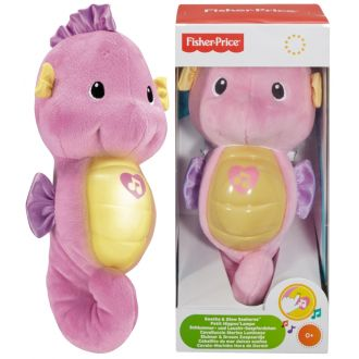 М'яка іграшка-нічник Морський коник, Fisher-Price, DGH84/DGH83