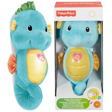 Мягкая игрушка-ночник Морской конек, Fisher-Price, DGH84/DGH82