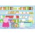 """Пазл """"Свинка Пеппа в магазині"""" Peppa Pig, 35ел. + наклейки в подарунок, Trefl, 75117"""