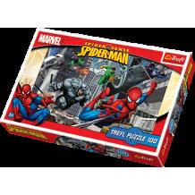 """Пазл """"Атака"""" Spiderman, 100ел., Trefl, 16158"""