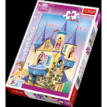 """Пазл """"Дворец принцесс"""" Disney Princess, 160ел., Trefl, 15142"""