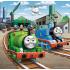 """Набор пазлов Trefl 3в1 """"Томас переходит к действию"""", 20 + 36 + 50 деталей, 34821"""