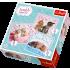 "Набір пазлів Trefl 3в1 "" Sweet & Lovely - солодкі кошенята"", 20 + 36 + 50 деталей, 34809"