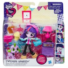 My Little Pony Девушки Еквестрии «Девичник. Твайлайт Спаркл» B6359/B4909