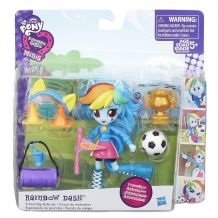 My Little Pony Девушки Еквестрии «Спортивные соревнования. Рейнбоу деш »B8025/B4909