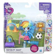 My Little Pony Дівчата Еквестріі «Спортивні змагання. Рейнбоу деш» B8025/B4909
