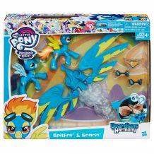 """Фігурки My little Pony """"Спітфайр і Сорін"""" серії """"Захисники Гармонії"""", B6011"""