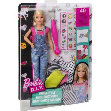 "Кукла Barbie ""Стиль эмодзи"" серии ""Сделай самf"", DYN92/DYN93"