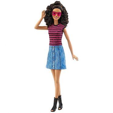 """Кукла Barbie высокая Модница """"Джинс и блеск"""", FBR37/DVX77"""