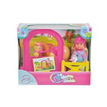 Лялька Еві в стайні, Simba, 5732793