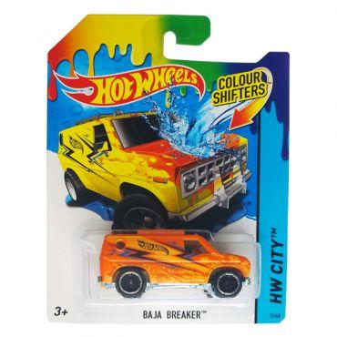 Машинка меняющая цвет Baja Breaker Hot Wheels, BHR15