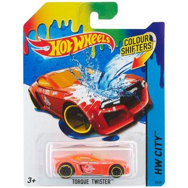 Машинка меняющая цвет Torque Twister Hot Wheels, BHR15