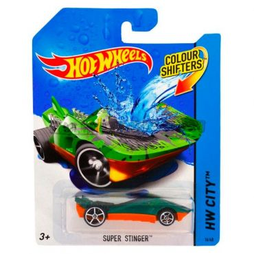 Машинка що змінює колір Super Stinger Hot Wheels , BHR15