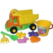 Multi Truck вантажівка з набором для піску 8 ел., 39204
