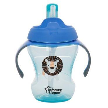 Чашка-непроливайка с трубочкой Tommee Tippee 6м +, 44701381