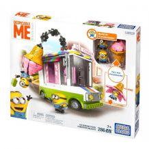 """Конструктор """"Фургончик с мороженым. Миньоны"""" Mega Bloks, DPG73"""