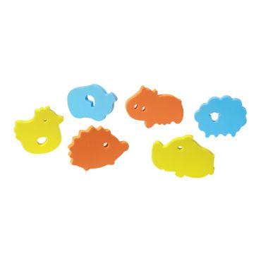 Пазлы мягкие для ванной 6 штук, BabyOno, 534