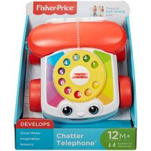 "Іграшка-каталка ""Телефон"" Fisher Price, FGW66"