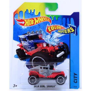 Машинка меняющая цвет Baja Bone Shaker Hot Wheels, BHR15