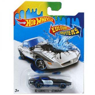 Машинка що змінює колір 82 Corvette Stingray Hot Wheels, BHR15