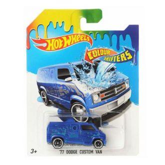 Машинка що змінює колір `77 Dodge Custom Van Hot Wheels, BHR15