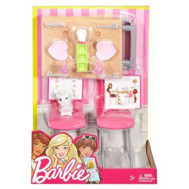 """Набор мебели """"Обеденный стол"""" Barbie, DXB69/DVX45"""
