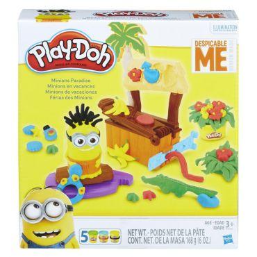 """Набор пластилина Play-Doh """"Рай для миньонов"""", B9028"""