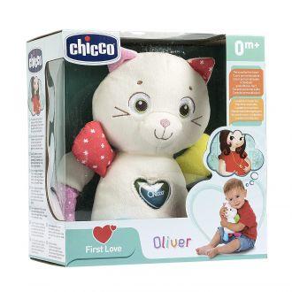 "М'яка музична іграшка ""Кошеня Олівер"", chicco, 07940"