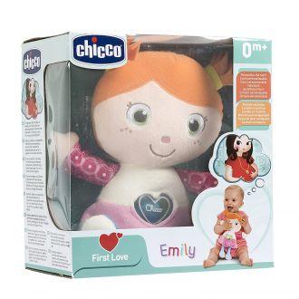 """М'яка музична іграшка """"Дівчинка Емілі"""", chicco, 07942"""