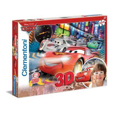 "Пазл Vision 3D Clementoni ""Тачки 3"", 104 ел., 20044"