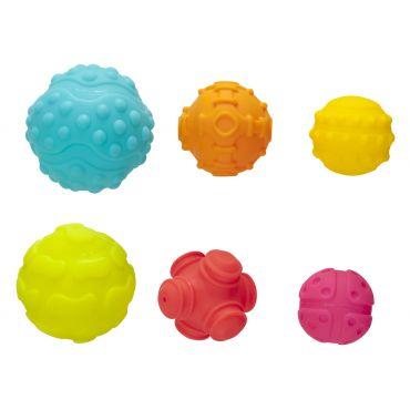 Текстурные сенсорные мячики, Playgro, 4086398