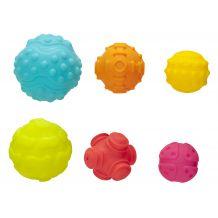 Текстурні сенсорні м'ячики, Playgro, 4086398