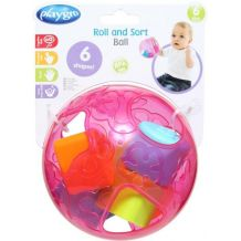 Сортер-шарик розовый, Playgro, 4086170