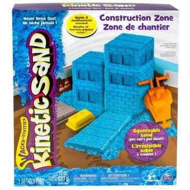 """Ігровий набір для творчості Kinetic sand """"Будівельний майданчик"""" 340 г, 71417-2"""