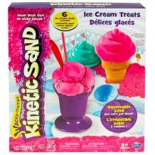 """Игровой набор для творчества Kinetic sand """"Мороженое"""" 340 г, 71417-2"""