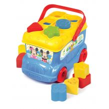 "Іграшка-сортер ""Автобус Міккі Мауса"", Clementoni, 14395"