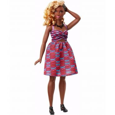 """Лялька Barbie пишна Модниця """"Зигзаг"""", FBR37/DVX79"""