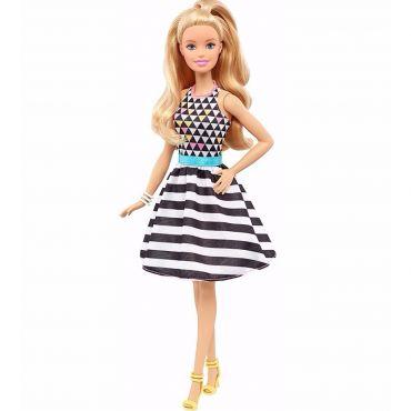 """Кукла Barbie миниатюрная Модница """"Интересный принт"""", FBR37/DVX68"""