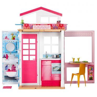 Портативный двухэтажный домик Barbie, DVV47