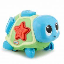 Повзаюча черепаха-сортер зі звуком, Little Tikes, 638497