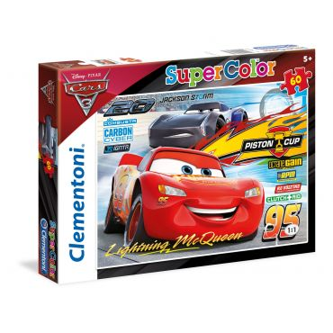 "Пазл SuperColor Clementoni ""Тачки 3"", 60 эл., 29973"