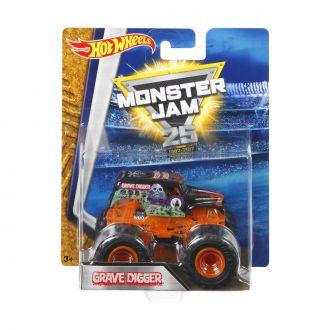 "Машина-позашляховик GRAVE DIGGER серії ""Monster Jam"" Hot Wheels, BHP37"