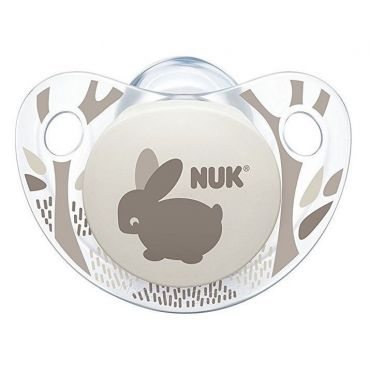 Соска-устышка NUK Trendline Adore, 0-6 міс, 729657
