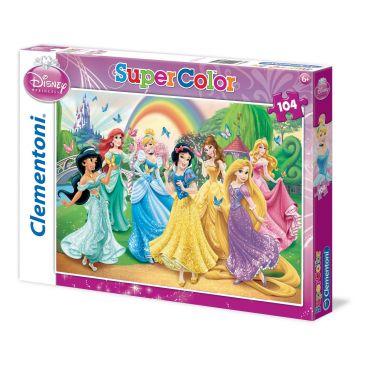 """Пазл SuperColor Clementoni """"Принцеси Дісней"""", 104 ел., 27856"""